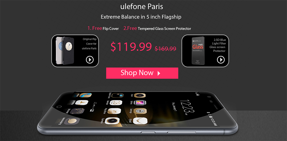 Ulefone Paris offer