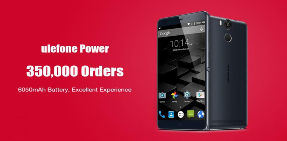 350000 πωλήσεις Ulefone Power