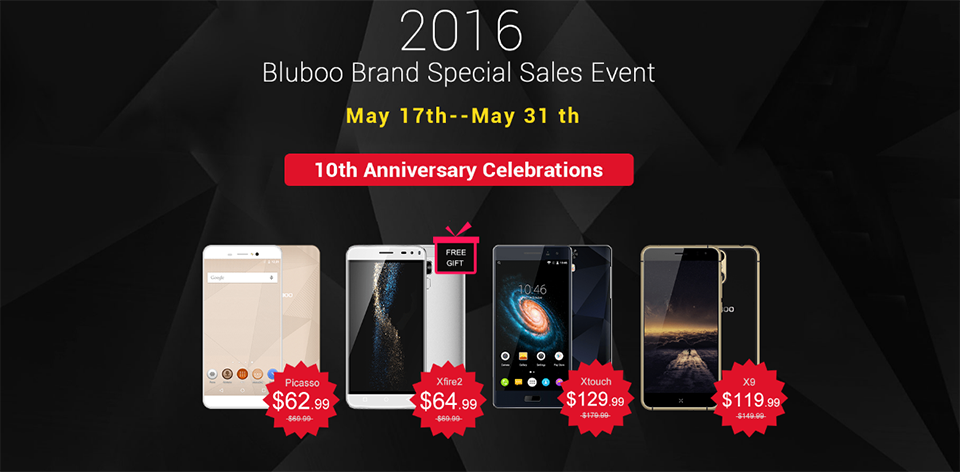 Bluboo offers May2016