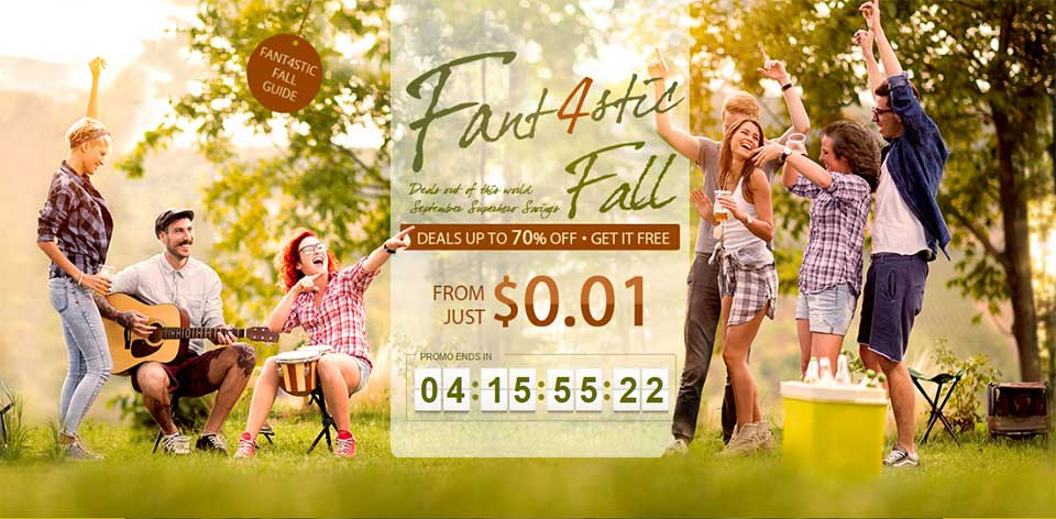 EPIC FANT4STIC FALL SALE
