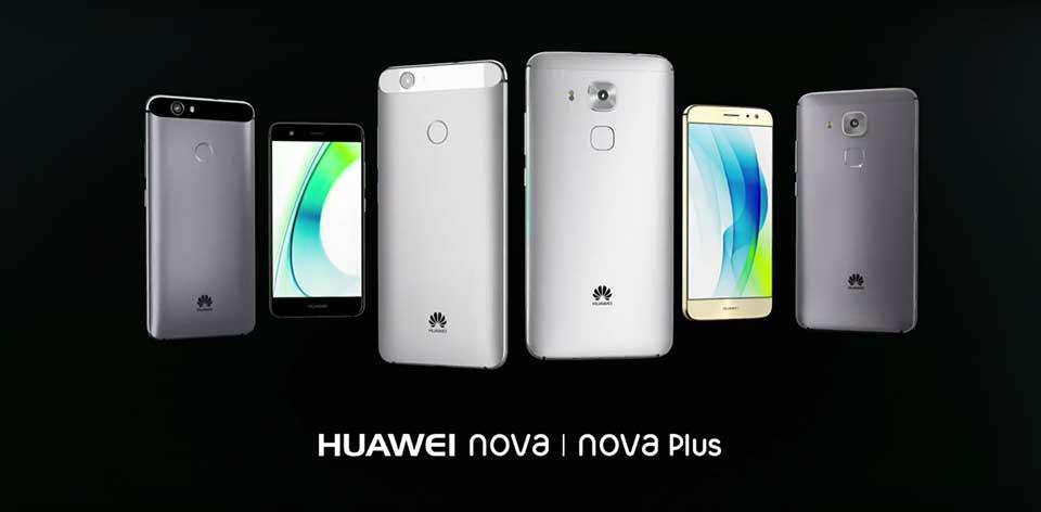 Huawei Nova και Huawei Nova Plus