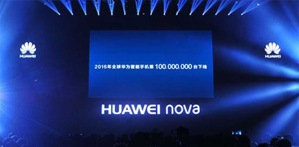 100 million devices for Huawei