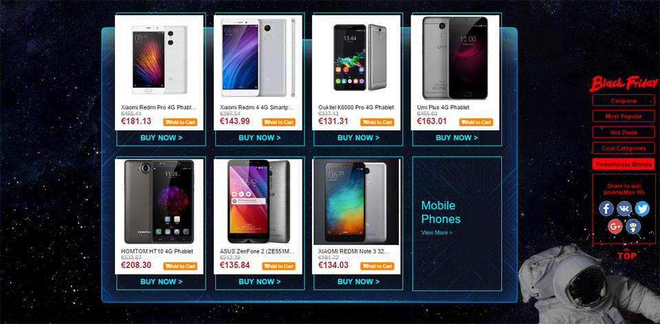 Black Friday 2016 smartphone deals