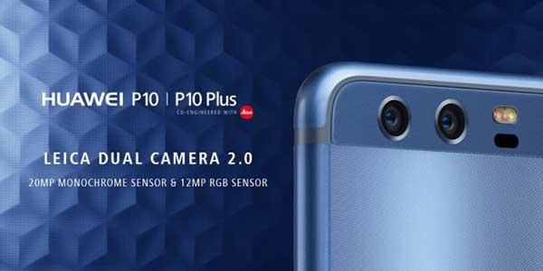 Huawei P10 cameras