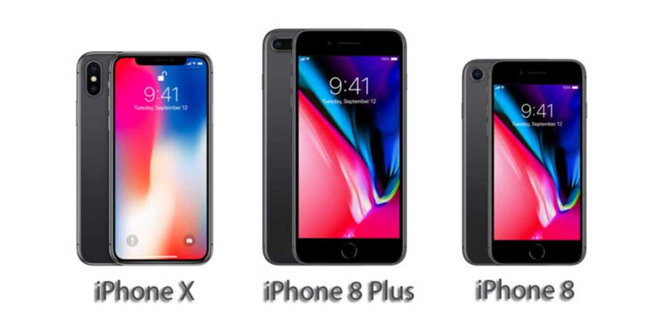 iPhone 8, iPhone 8 Plus και iPhone X