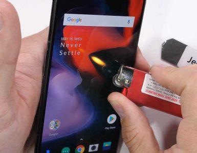 OnePlus 6 durability test