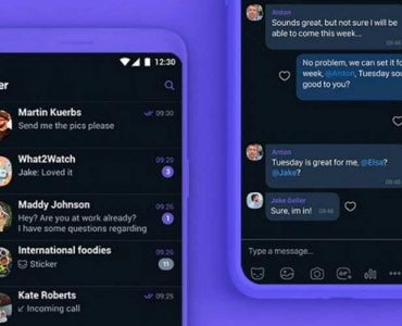 Dark Mode Viber